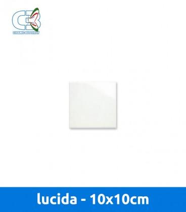 Piastrella opaca 10x10 cm - Piastrella bianca lucida ...