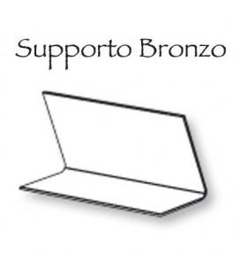 Supporto bronzo 20x17 libro/pergamena