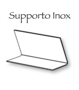 Supporto Inox 15x13,5 libro/pergamena