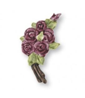 corona rose Porpora 10x12 cm