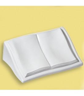 Libro a terreno con leggio cm.39x26 h.14