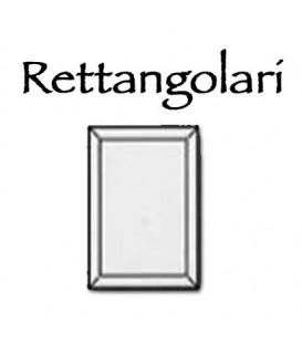 Placca rettangolare in cristallo molato 18x24 cm