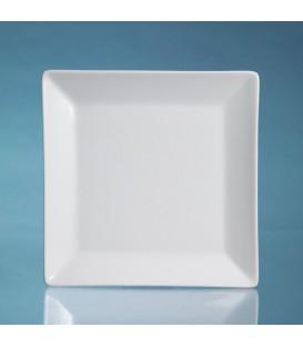 Piatti piani Ming, 41x41cm in ceramica
