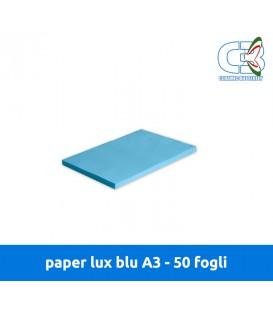 Paper Lux Blu A3 - Conf. 50 fogli