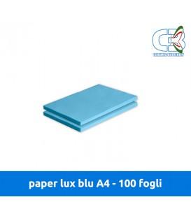Paper Lux Blu A4 - Conf. 100 fogli
