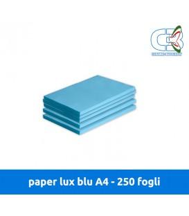 Paper Lux Blu A4 - Conf. 250 fogli