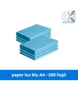 Paper Lux Blu A4 - Conf. 500 fogli