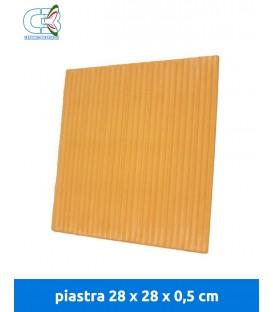 Piastra refrattaria 28x28x0,5 cm