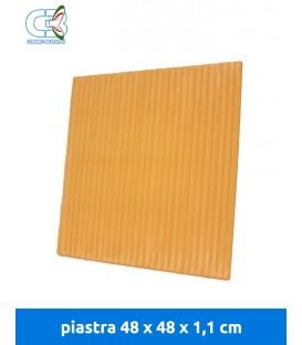 Piastra refrattaria 48x48x1,1 cm