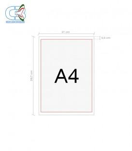 Stampa Decalco A4 - No lacca