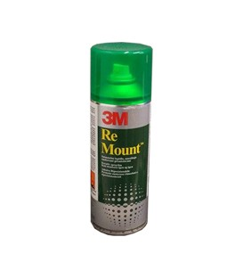 Adesivo Spray Re Mount 3M
