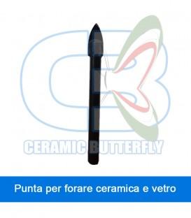 Punta mm 10 per forare ceramica e vetro