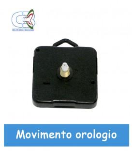 5 pz meccanismo orologio muro 16mm Standar