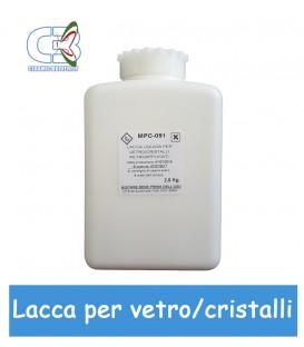 Lacca per Vetro Cristallo Liquida - 2.5 Kg