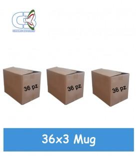Tazza Mug, cm 8x9,5h.108 PZ