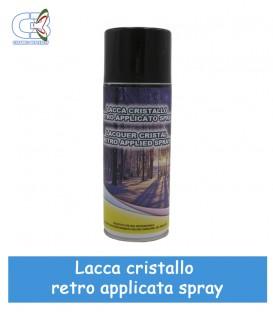 Lacca per Cristalli retroapplicati Trasparente Spray 400 ml
