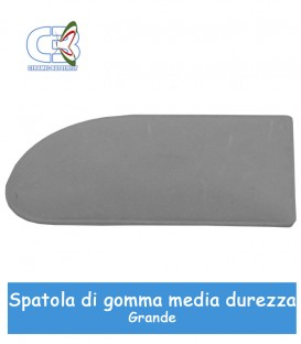 Spatola grande in gomma media durezza per decalcomanie