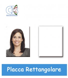 Placca rettangolare cm.60x80x1,7