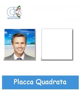 Placca quadrata cm.10x10