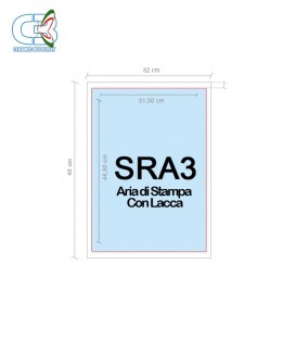Stampa Decalcomanie SRA3 - Laccata