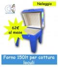 Forno ceramica 150 lt. piano idoneo per Vetro fotoceramica