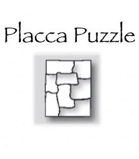Placca Puzzle cm.20x25