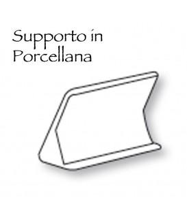 Supporto in porcellana cm.13x8